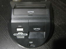 Official Sega Genesis Power Base Converter Master System Game Adapter Mega Drive