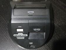 Official Sega Genesis Power Base Converter Master System Game Adapter Mega Drive