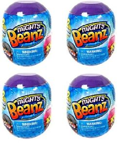 Mighty Beanz Blind Capsules with 2 Beanz Inside Each Capsule Lot of 4 Brand NEW