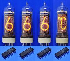 IN-14 IN-19A Nixie Röhren und Treiber für Elektor Thermo-/ Hygrometer tube tubes