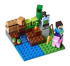 LEGO Minecraft the Melon Farm Building Kit 69 Pcs Building and Construction Toys