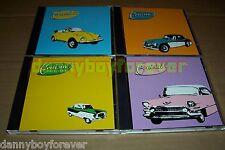 A&W Cruisin' 1 2 3 4 CD Lot Jan & Dean Ventures Beach Boys Dion Hollies The Band