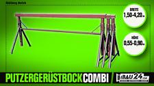 Putzergerüstbock Combi 1,50m - 4,20m Breite