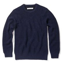 BNWT Outerknown Layover Crew Knit Sweater Medium Alpaca Jumper Kelly Slater