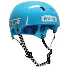 Protec Bucky Lasek Skateboard Skate Park Helmet TRANS GUMBALL BLUE XL