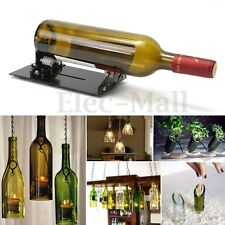 Vintage Wine Beer Glass Bottle Cutter Machine Jar Recycle Cutting Tool Kit Craft