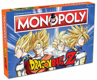 Dragon Ball Z MONOPOLY Board Game New 2017 NEW Factory Sealed (read details)