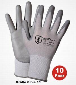 10 Paar CutTEX ECO Level 3 Schnittschutzhandschuhe Arbeitshandschuhe Handschuhe