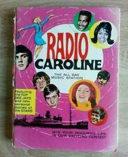 Radio Caroline Annual Circa 1966 Vintage Pop Music Hardback Book