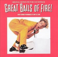 Great Balls of Fire CD. SOUNDTRACK (CD, Jun-1989, Polydor) JERRY LEE LEWIS