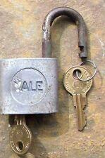 Vintage Yale & Towne  Padlock & Keys