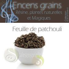 25g de patchouli feuilles Encens naturel purificateur protecteur Esotérisme