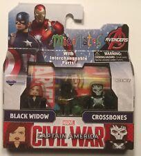 Marvel Minimates Captain America Civil War Wave 67:Black Widow and Crossbones