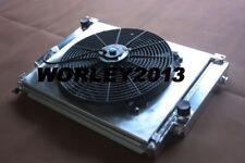 Aluminum radiator & shroud & fan for BMW E36 M3 / Z3 /325TD /320 323 328 1992-99