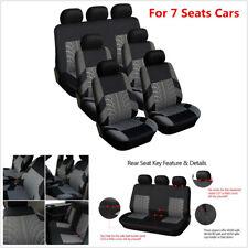 3-Row 7 Seaters Auto Car Seat Covers Vehicle Sedan SUV Van Interior Accessories