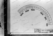Negativ-Technische-Zeichnung-Skala-Zungen-Schwingungsmesser-1930er-Jahre-8