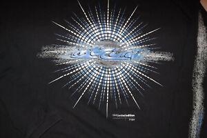 VINTAGE NIKE LIMITED EDITION 71/01 LONG SLEEVE  3XL  BLACK T-Shirt  Mens  B123