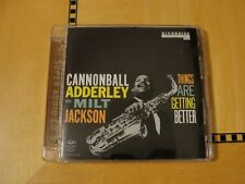 Cannonball Adderley w/ M Jackson Things are Getting Better Super Audio CD SACD