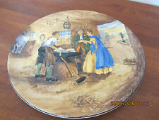 large charger wall plaque Burleigh ware pottery Gretna Green