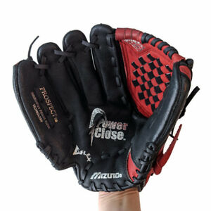 "Mizuno Prospect Series Youth LHT Baseball Glove GPP1100Y1T 11"" Power Close Red"