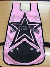 Cheerleading Bibs • Pink & Black • Pack Of 5