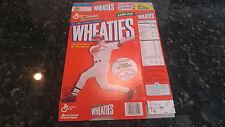 1998 Mark McGwire 70 Homeruns Flat Wheaties Box