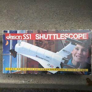 Vintage Rare Jason SS1 Shuttlescope Telescope With Tripod - Original Box. New