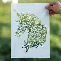Unicorn Stencil Templates for Painting A3 A2 Mandala Stencils for Wall Reusable
