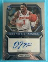 🔥 2020-21 Panini Prizm OBI TOPPIN Rookie Signatures KNICKS RC SP PSA Ready 🔥