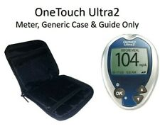 ONE TOUCH ULTRA2 BLOOD GLUCOSE DIABETES MONITOR, METER & CASE ONLY (NO LANCET)