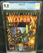 Deadpool #60 (2002) (Agent of Weapon X #4) CGC 9.8 White Pages F380