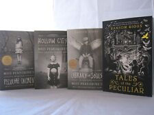 Miss Peregrine's Peculiar Children #1-4: Book Series by Ransom Riggs (Paperback)