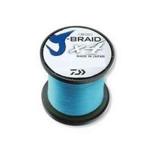 Daiwa J-Braid X4 Island Blue Line - 3000yds ~ Select Break Strength / lb. Test ~