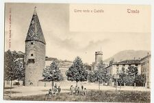 Trento, Trient, Torre verde e Castello, Burg, Personen, ca. 1905 top Erhaltung