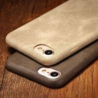 Luxury Ultra-thin PU Leather Back Skin Case Cover For Apple iPhone 6 6S 7/7 Plus