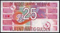 1989 | Netherlands 25 Gulden Banknote | Banknotes | KM Coins