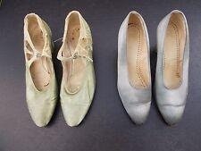 Dos Pares De Zapatos década de 1920 uno por Mansfield & Sons, Nottingham Talla 4/5