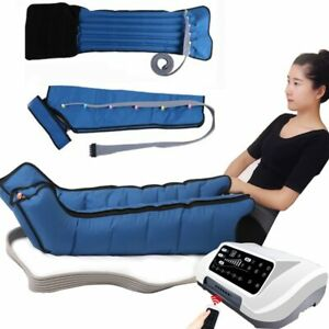 Air Compression Leg Foot Massager Vibration Infrared Therapy Arm Waist Pneumatic