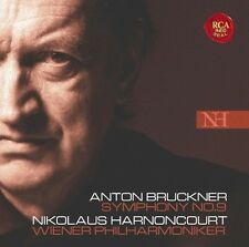 NIKOLAUS/WIENER PHILHARMONIKER HARNONCOURT - BRUCKNER: SINFONIE 9  CD NEU BRUCKN
