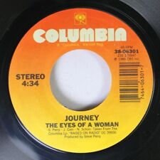 Rock 45 Journey - The Eyes Of A Woman / I'Ll Be Alright Without You (Hot Mix) On