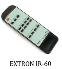 EXTRON IR-60 REMOTE CONTROL FOR  SCAN CONVERTER VSC 150 SEALED WORLDWIDE POST