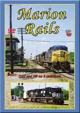 Marion Rails CSX & NS on 3 Mainlines DVD NEW Erie, C&O, Norfolk Southern NYC N&W