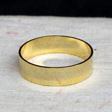 3.8cm 24k chapado en Oro Anillo De Latón Esfera Soporte Espécimen 299