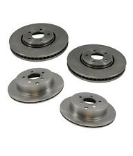 Front and Rear Disc Brake Rotors for Infiniti FX35 2005-2012 & FX45 2005-2008