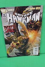 The Savage Hawkman #3 Death Rules Skies Comic Dc Comics New 52 Vf
