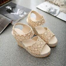 SANDALIAS DE MUJER Calzado Zapato Tacon Alto Plataforma Moda Sandalia de Encaje
