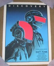 DAFT PUNK concert tour poster Discovery flood gallery regular tim doyle