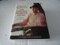 Agatha Christie THE THIRTEEN PROBLEMS Audio Cassettes read Joan Hickson Gift Set