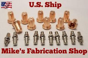 20 Piecs electrodes & nozzle Chicago Electric plasma cutter 62204  IPT-40 torch