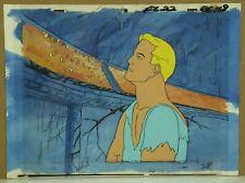 Flash Gordon Original Hand Painted Animation Cel & Painted Background (27-42)